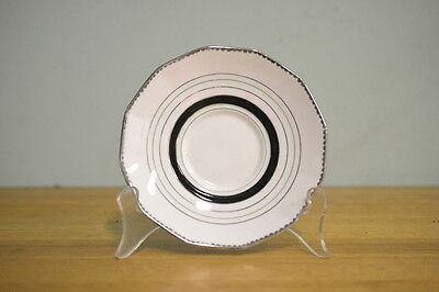 Vintage fine china saucer / plate Plant Tuscan reg 780986 3195 No 322