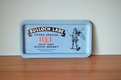 Vintage metal serving tray  Bulloch Lade Scotch Whisky