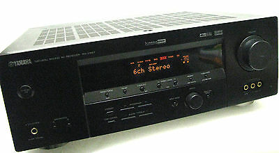 Yamaha rx v673 7 1 home theatre network receiver w for Yamaha multi zone receiver