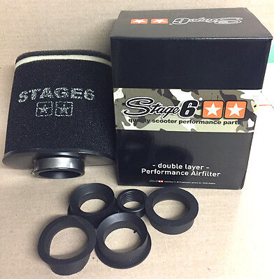 Stage 6 Double Layer big AIRFILTER BLACK Luftfilter NEU!! TOP!!