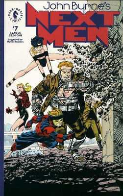 John Byrne's Next Men (1992 series) #7 in Very Fine condition. FREE bag/board