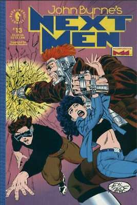 John Byrne's Next Men (1992 series) #13 in Very Fine condition. FREE bag/board