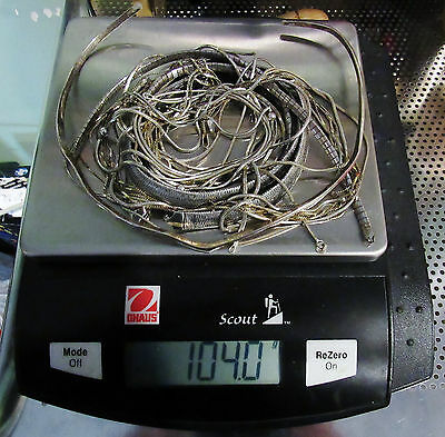 Solid 925 Sterling Silver Chains SCRAP 104 GRAMS LOT No Stones All Magnet Tested