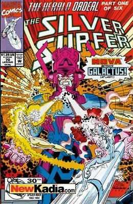 Silver Surfer (1987 series) #70 in Near Mint - condition. FREE bag/board
