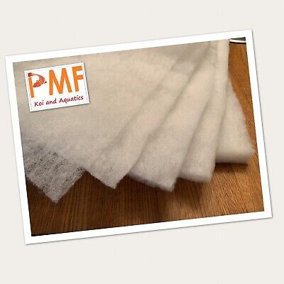 Aquarium Pond Filter Media Wool Floss Wadding Fleece Roll All Sizes Available