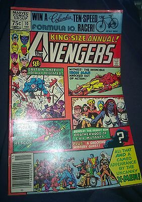 The Avengers King Size Annual #10 Nov 1981 8.0 - First Appearance of Rogue