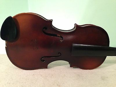 Early 1900s GERMAN STRADOVARIOUS 3/4 FINE VIOLIN QUALITY PROJECT