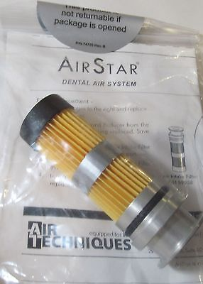 New Air Techniques Airstar 89831 Replacement Dental Air Intake Filter