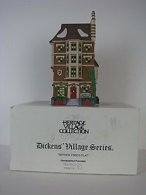 Department 56 Nephew Freds Flat Heritage Village Collection Dickens Village