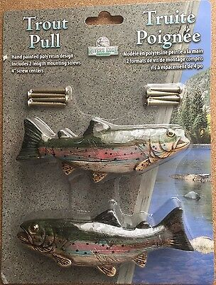 Trout Fish Drawer Handles 2Pk