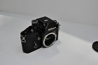 Black Nikon F2A Photomic 35mm SLR Film Camera Body Only