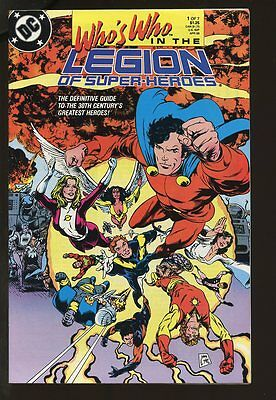 Who's Who In The Legion Of Super-Heroes #1-7 Vf/nm Complete Set 1988 Dc Comics
