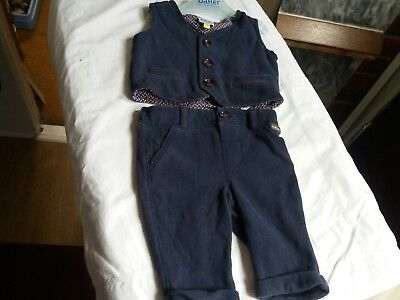 Ted Baker Boys Waistcoat And Trousers Excellent Conditon Age 0-3 Months