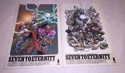 Seven To Eternity 3 Cover A & B - 2 Iss Lot 1st Prints