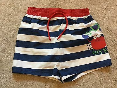 **BNWT** MARKS AND SPENCER SWIM SHORTS ~ LINED ~ 6-9 months