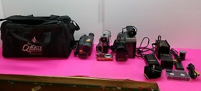 LOT of Various Sony and RCA Misc Camcorders + Casio camera 1F