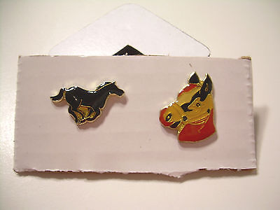 Horse Horse Head Vintage Pins from the 80's