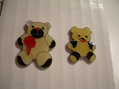Vintage Teddy Bear Pins from the 80's