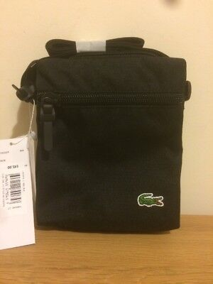 Lacoste crossover item bag in black one size