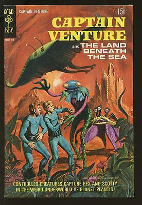 Captain Venture #2 Very Good 1969 Gold Key