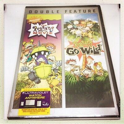 NEW The Rugrats Movie / Rugrats Go Wild Double Feature DVD FREE FAST SHIPPING