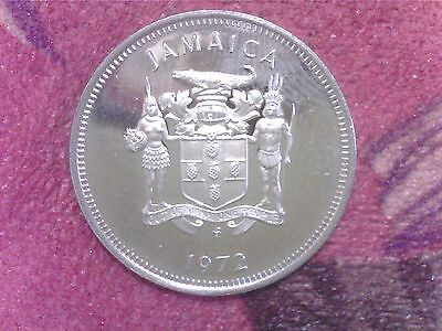 Jamaica   10  Cents   1972    Proof