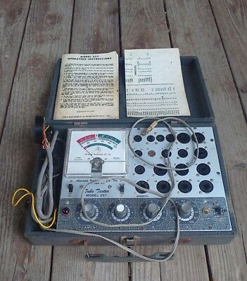 accurate tube tester model no 257