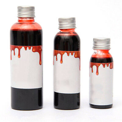 CHIC New Horror Clot Blood Makeup Halloween Stage Fake Theatrical Vampire Tube