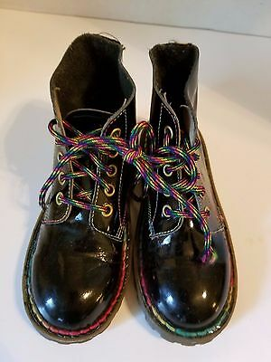 DR. MARTENS youth girl Boots Sz. UK 11 / US 12