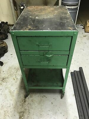 Antique Lyon Industrial Cabinet