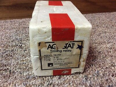 AGASTAT MODEL 7012vh TIMING RELAY IN FACTORY BOX NEW