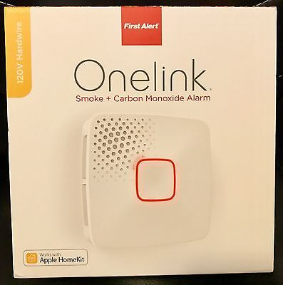 ONELINK BY FIRST ALERT AC10-500 120V Hardwired Wi-Fi Smoke Detector NIB