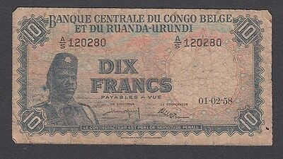 10 Francs From Congo A1