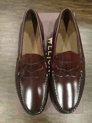 Men's Weejuns FS Penny Loafers -Burgandy  Size 9D