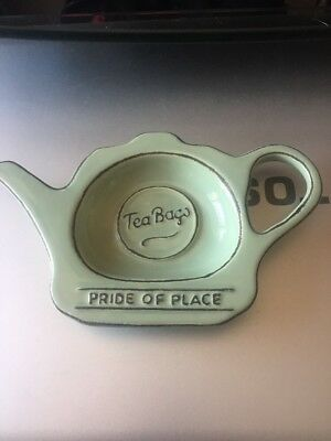 T&G Pride Of Place Tea Bag Tidy Old Green BUY 2 GET 1 FREE