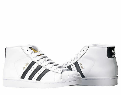 the best attitude 64ef6 dfc65 Adidas Originals Pro Model White Black Men s Basketball Shoes S85956