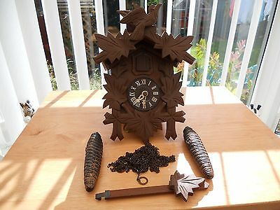 German Black Forest Cuckoo Clock