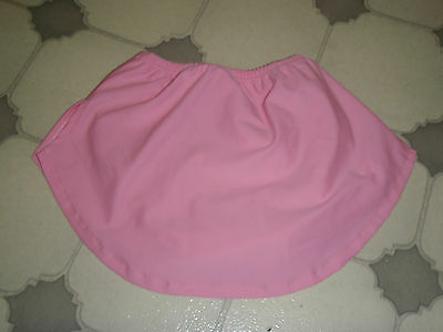 Professionally made Light Pink skating skirt (reduced)