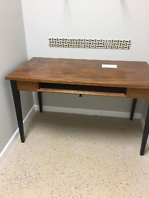 Wooden Desk; Commercial Quality. For Home Or Office.