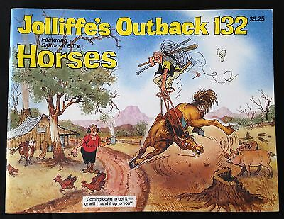 "Vintage - ""joliffe's Outback"" 132 Horses"