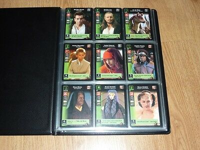 Young Jedi CCG Battle of Naboo - Complete Set of Cards #1 to #140 Plus 18 Foils