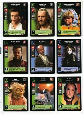 Star Wars Young Jedi CCG Duel of Fates - Complete Set of Cards - #1 to #60