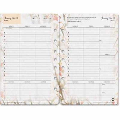 Franklin Covey Blooms Dated Weekly/Monthly Planner Refill (35448)