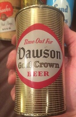 Dawson Gold Crown Beer Can Flat Top 1956