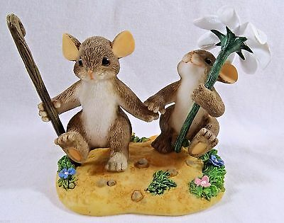 Charming Tails Figurine Together We'll Make It