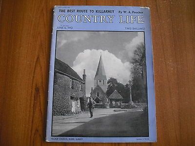 COUNTRY LIFE MAGAZINE - JUNE 6th 1952