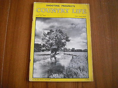 COUNTRY LIFE MAGAZINE - JULY 22nd 1949