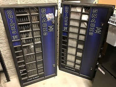 2 Antares PWJ-7 Vending Snack Machines--One Is BRAND NEW and ONE slightly used