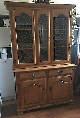Dining Room Hutch And Buffet Solid Wood