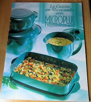 tupperware livre la cuisine au micro ondes avec microplus eur 6 00 picclick fr. Black Bedroom Furniture Sets. Home Design Ideas